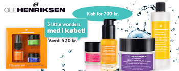 Ole Henriksen - få 3 Little Wonders Mini med i købet