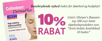 10% rabat på Colladeen Derma Plus!