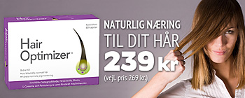 Hair Optimizer! u 239 kr. (vejl. pris 269 kr.)