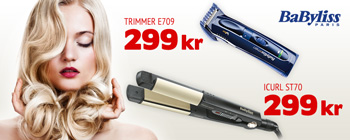 BaByliss - 299 kr.