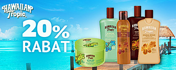 Hawaiian Tropic - 20% rabat!