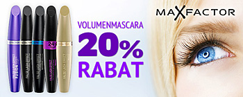 Max Factor False Lash Effects mascaraer - 20% rabat!