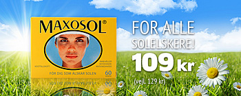  Maxosol - 109 kr. (vejl. pris 129 kr.)