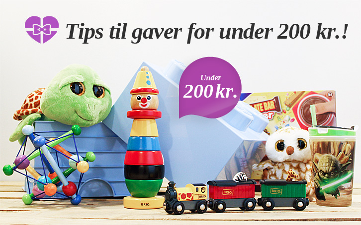 Tips til gaver for under 200 kr.!