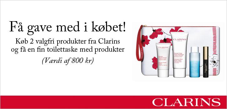 Clarins  - gave med i købet