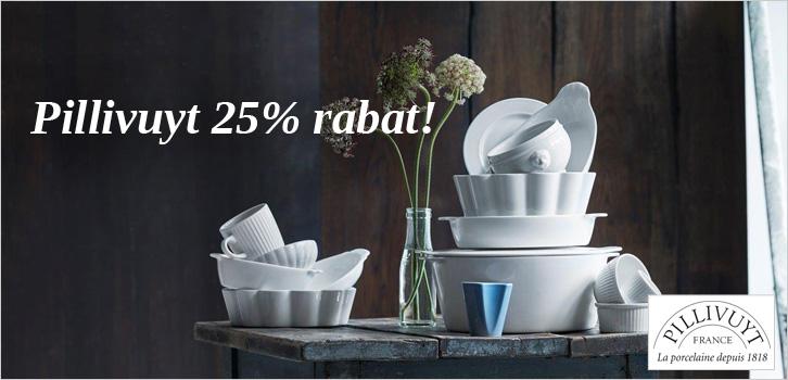 25% rabat på Pillivuyt!