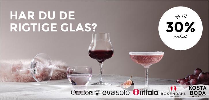 Har du de rigtige glas?