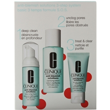 Anti Blemish Solutions 3 Step Set