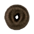791911 Small Brown Donut With Hair