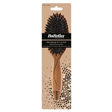 BaByliss 791966 Paddle Brush Wild Boar Bristle