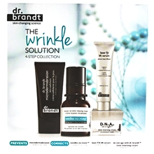 The Wrinkle Solution - 4 Step Collection