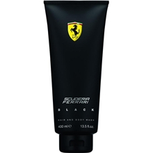 Scuderia Ferrari Black - Hair & Body Wash