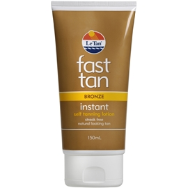 Fast Tan Bronze Instant Self Tanning Lotion