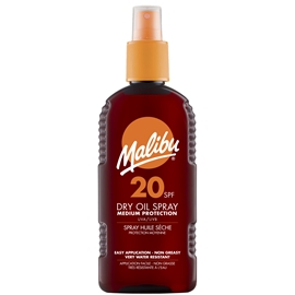 Malibu Dry Oil Spray SPF 20