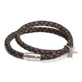 Leather Link 5 Double Bracelet