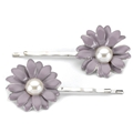 05309 Lavender Flower Hairpin Set
