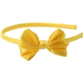 09096 Kidz Neon Yellow Bow Diadem