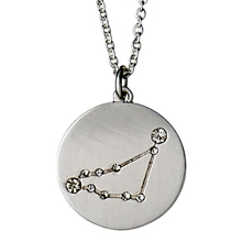 Capricorn Horoscope Necklace