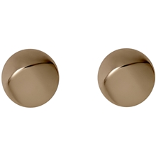 Manuela Stud Earrings - Rose Gold