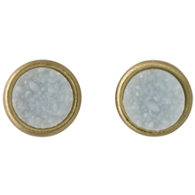 Small Round Earrings Gold Plated
