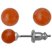 Summer Orange Stud Earrings
