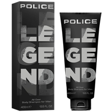 Police Legend for Man - All Over Body Shampoo