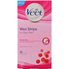 Veet Ready To Use Wax Strips - Normal Skin