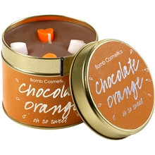 Tin Candles Chocolate Orange