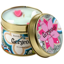 Tin Candle Gorgeous - Hi Sweetie!