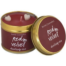 Tin Candle Red Velvet