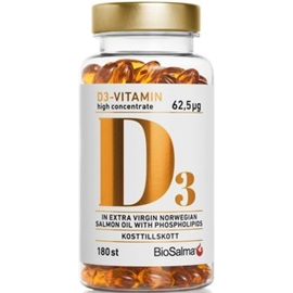 BioSalma D3-vitamin high concentrate 50µg