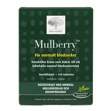 120 tabletter - Mulberry