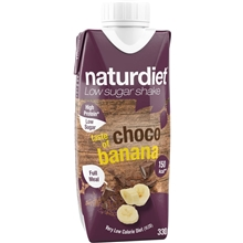330 ml - Chocolate/Banana - Naturdiet Shake