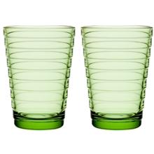 aino-aalto-drikkeglas-33-cl-2-pak-1-set-apple-green