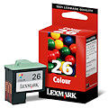 Lexmark Ink No 26 Color 010N0026E