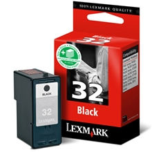 Lexmark Ink No 32 Black (Low yield) 018CX032E