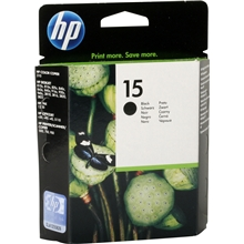 HP Ink No 15 Black (25ml) C6615DE_ABB