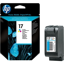 HP Ink No 17 Tri-Colour C6625AE_ABB