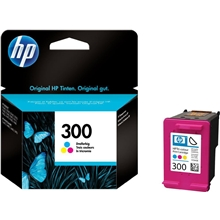 HP Ink No 300 Tri-Colour CC643EE
