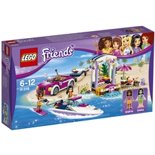 LEGO Friends Andreas Speedbåd-Transporter