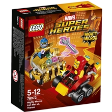 76072 LEGO Super Heroes Iron Man mod Thanos