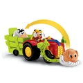 Fisher Price Mickeys Tractor Toss