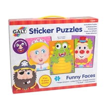 Funny Faces Sticker Puzzles