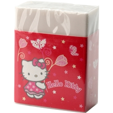 Hello Kitty Red Flowers Viskelæder