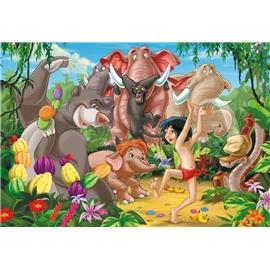 Puslespil 200 Brikker Junglebogen - Jungleparty - Børnepuslespil - Ravensburger | Shopping4net