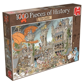 Puslespil 1000 Brikker Pieces of History Castle