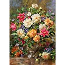 puslespil-4000-brikker-flowers-for-queen-elizabeth