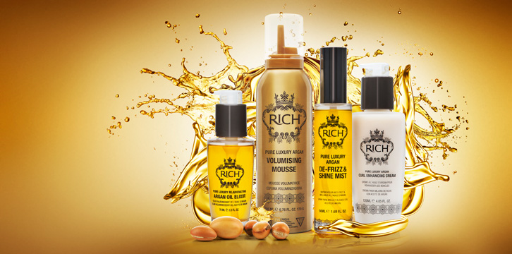 Rich Hair Care - få shampoo med i købet!