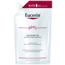 Eucerin pH5 Shower Oil parfymerad refill