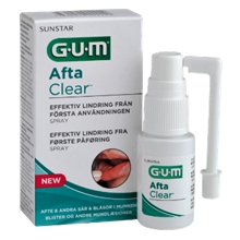 15 ml - GUM AftaClear Spray